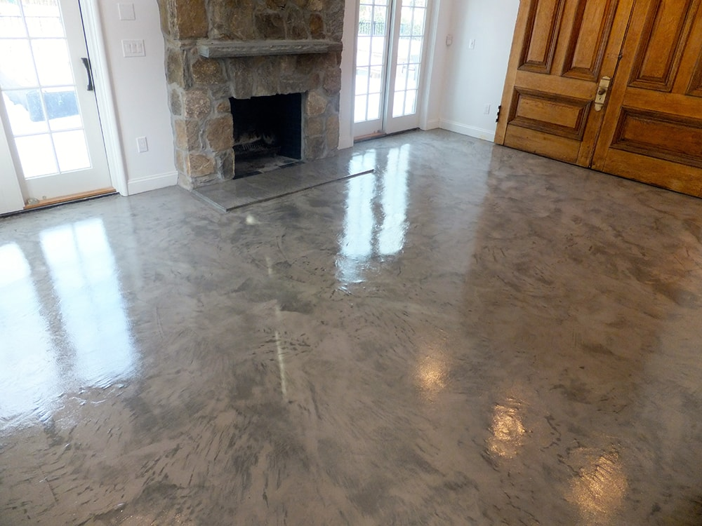 Metallic epoxy floors ct ny epoxy floor coatings for Polished concrete floors