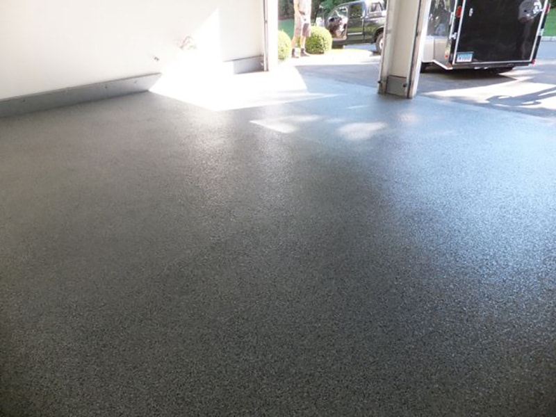 Garage Floor In Stamford
