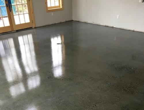 charcoal concrete floor venetian plaster style floor elite concrete systems