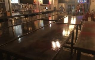 concrete countertop installation