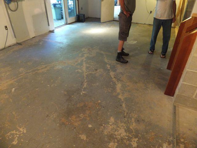 Polished Concrete Basement Floor Ridgefield Elite