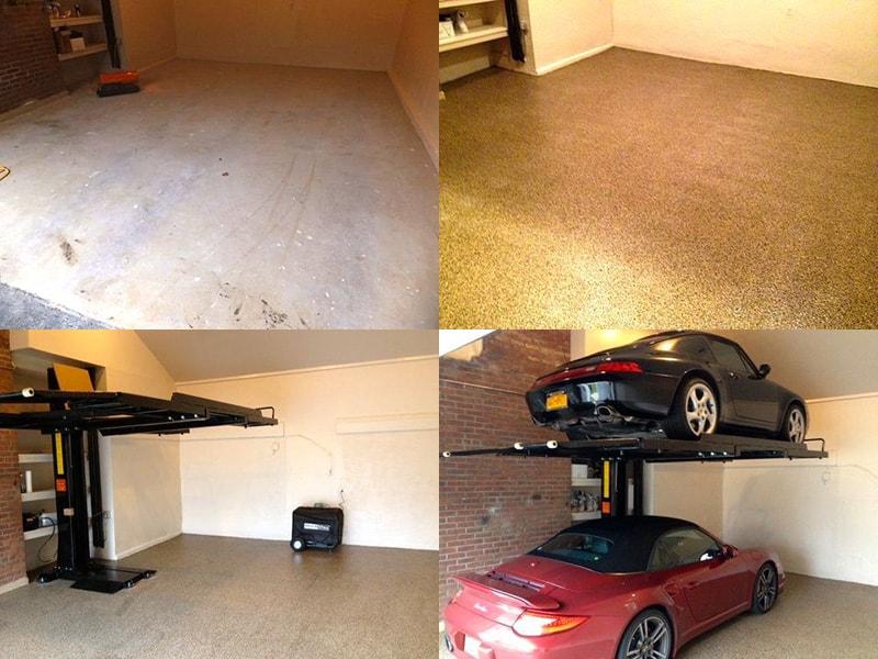 Garden City Epoxy Garage Floor