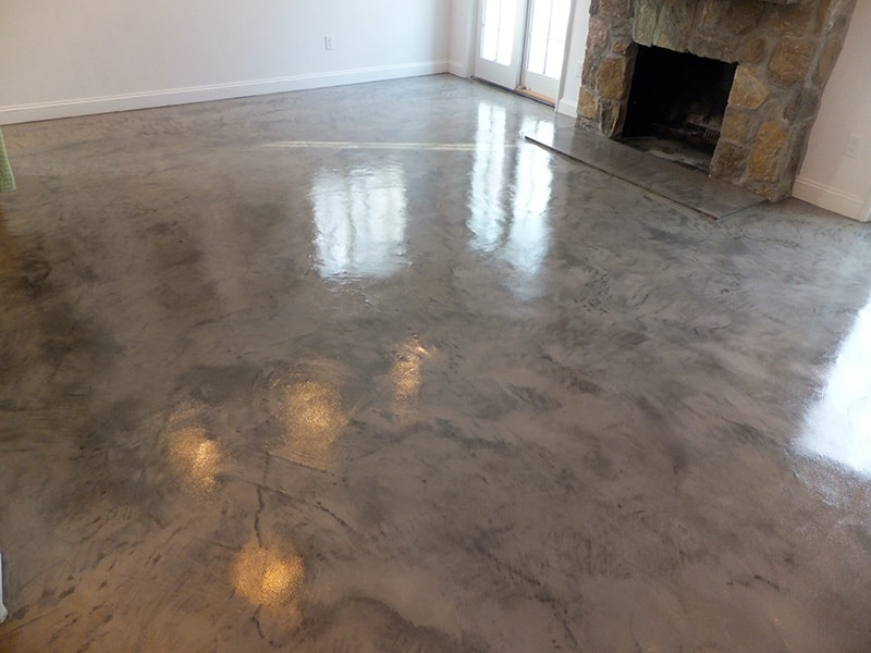 Venetian Plaster Style Floor Elite Concrete Systems